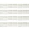 Miyuki Tila Bead 5X5mm 2 Hole Silk White Transparent
